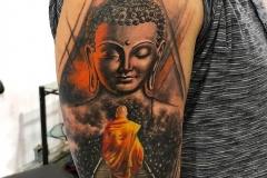 Buddha tattoo - Manjeet Tattoo